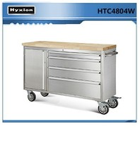 "Hot sale stainless steel 48"" 4 Drawer truck tool boxes for bicycle repair tool"