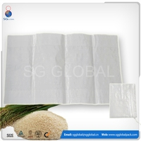 Price pp woven 25kg bag of rice