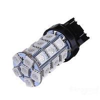 T20 7740 7743 5050chip 27smd Turn /Tail brake stop lights DC12v -24v red led car lighting bulb