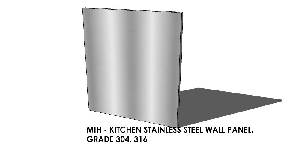 kitchen stainless steel wall panel photo detailed about kitchen stainless steel wall panel. Black Bedroom Furniture Sets. Home Design Ideas