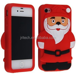 High Quality Injection 3D Silicone Case for Iphone