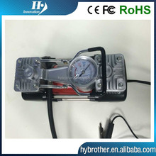 12V/24v Metal car cylinder air pump/car air compressor/auto tyre inflator