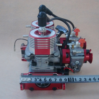 CNC 52cc and 58CC double-cylinder two-stroke engine of rc boats