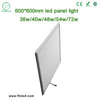 40w 50w 68w led 600x600 ceiling panel lights,dimmable led ceiling panel light,60*60 uv led grow light panels full spectrum