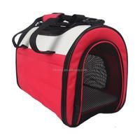 2015 New Designed Comfort Soft Sided Dog Bag Cute Dog Carrier Bag