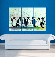 Decor Wild Animals Canvas Oil Paintings