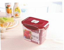 BPA free transparent plastic lunch box