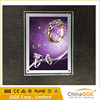 Super slim crystal acrylic LED light box with low attenuation