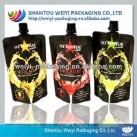 2014 Hot sale spout pouch for carbonated beverage packaging