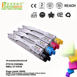 Buy Directly from China Factory 310-7890 Reman Color Toner Cartridge for use in DELL 5110CN (PT310-7890Bk)