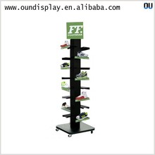 competition basketball shoe display rack store shoe stand