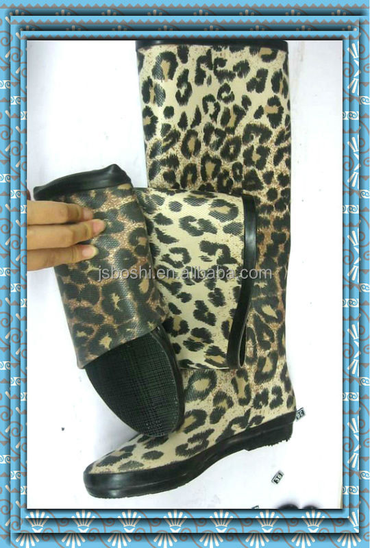 2014 fashion roman style knee women boot