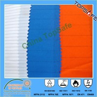 EN1149 antistatic water proof CVC cotton/polyester fabirc 250gsm for ESD workwear and coverall