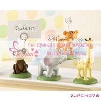 """Born To Be Wild"" Animal Place Card/Photo Holders Favors Wedding Table Decoration Gifts"