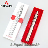 2015 Oct top product Rofvape A Equal 300mah VS ego one mini kit ego type e cigarette of Rofvape and 1500mah A Equal Mini