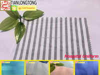 hospital cotton bedsheet fabric/scrubs for nurses/wholesale fabrics