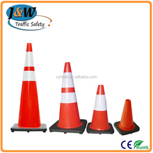Orange Traffic Cone Economy Type PVC Traffic Cone