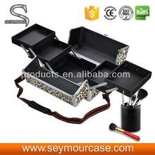 Pro Cosmetic Makeup Jewelry Aluminum Case