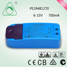 3-12W Triac Constant Current Dimming Driver/ 700MA LED Dimming Driver/LED dimmable driver