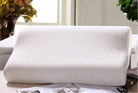 100% polyester memory foam pillow forchina facotry memory foam pillow LS-P-015 medicated pillow
