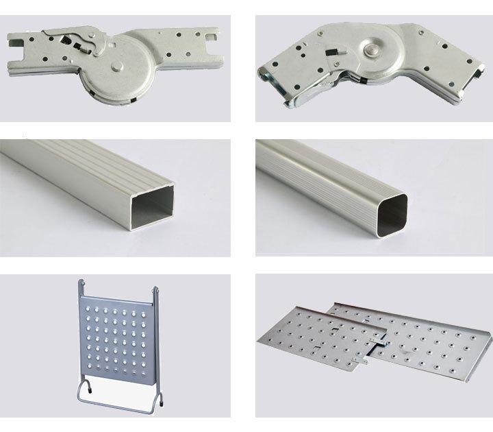Escalera plegable para altillo gallery of escaleras para for Uniones para perfiles cuadrados de aluminio