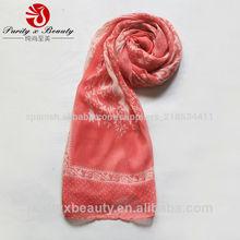 un dólar retro bufanda patrón de poliéster señora bufanda