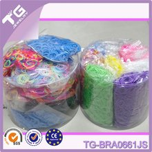 high quality loom bands & rubber bands factory price