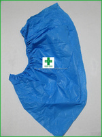 Machinemade thick CPE shoe cover for snow