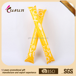 eco printed cheer inflatable sticks wholesales manufacturer
