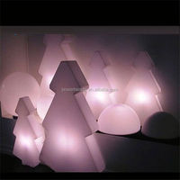 Wholesale waterproof artificial decorative led Christmas tree light made in china