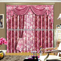 2014 china wholesale ready made curtain,luxury blinds and curtains