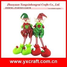 christmas decoration (ZY14Y515-1-2 62CM) elf