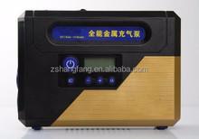 Digital setup gauge tire inflator,mini car compressor,dc 12v car air pump