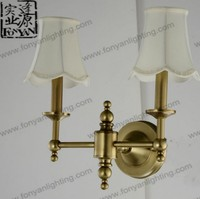New design modern LED outdoor metal wall lamp