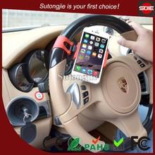 Hot Universal Mini Design Car Steering Wheel Mount,Mobile Phone Holder,Socket Holder for Mobile Phone&GPS