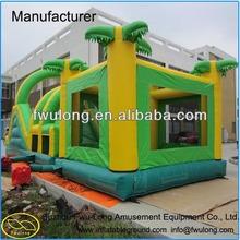 Inflatable bounce house / inflatable castle slide for kids & adult summper amusement park games