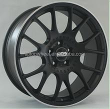 Replica BBS CH alloy wheels 18,19 inch matt black with machined lip item No.877 new style