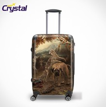 2015 Newly Developed ABS+PC Print Trolley Luggage/Bags/Suitcase