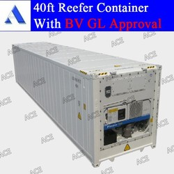GL BV certified 40 foot refrigerated container for sale