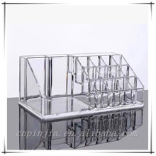 2015 high quality Desktop Clear Acrylic Cosmetic Organizer OEM Accepted manufacture of professional production