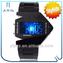 Digital Display and Silicone Strap Hot Sale Watches Led