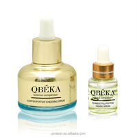 QBEKA Cooper peptdie tender your skin Serum support private brand (set)