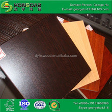 Factory 18mm white Melamine cheap Particle Board price for furniture materials ! Hot sale
