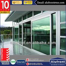 Double glazing Aluminum Lift Sliding Door for soundproof