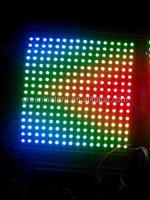 high power magic Pitch 10mm 16 * 16 ws2812b rgb led matrix