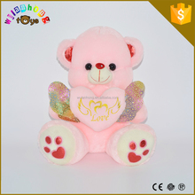 Lovely And Cute Soft Toy Stuffed Animals Best Selling oem custom size plush hot sale Valentine gift bear toy
