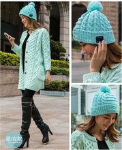 mujeres/los hombres de invierno y la primavera caliente sombreros gorros de punto beanie bluetooth bluetooth sombreros cap
