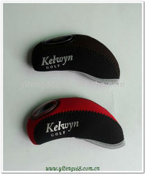2013 insulated waterproof wool knitted magnetic golf head covers
