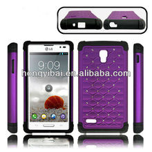 Factory direct wholesale 2013 silicone rubber phone case,for LG case dropship