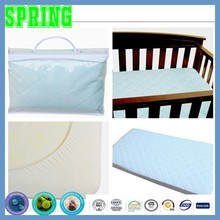 American Baby Company Waterproof Fitted Quilted Crib and Toddler Mattress Pad Cover